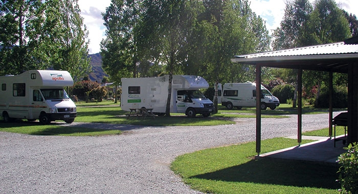 powered site for caravans