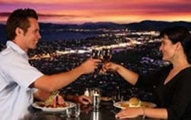 enjoy best views of Rotorua while dining out