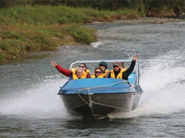 Braided River Jet Boating