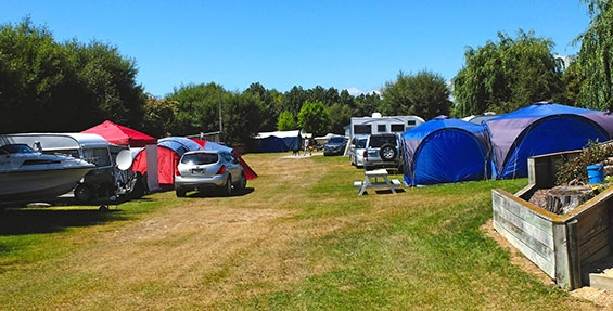 non-powered tent sites