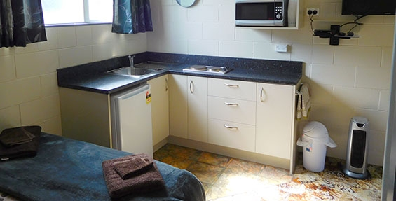 tourist cabin kitchenette