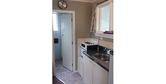 tourist flat camp kitchenette
