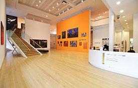 Inside Tauranga Art Gallery