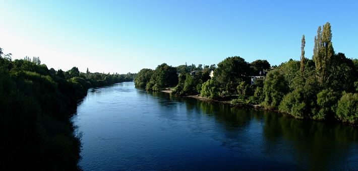 beautiful Waikato River