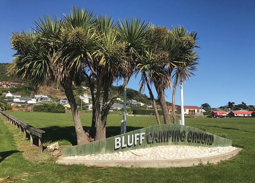 bluff camping ground
