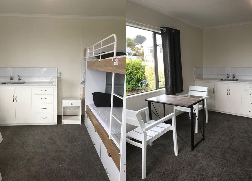 bluff camping ground accommodation