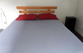 standard cabin queen-size bed