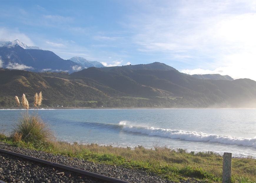 beautiful beaches of Kaikoura