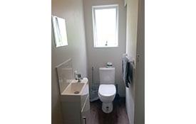 bathroom of ensuite cabin