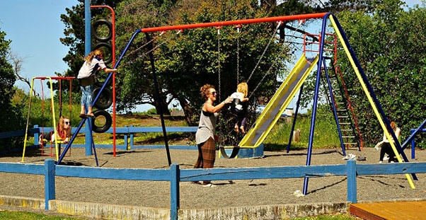 playground on-site