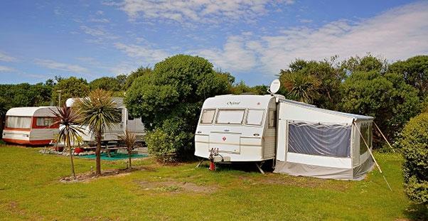 beachfront camping sites