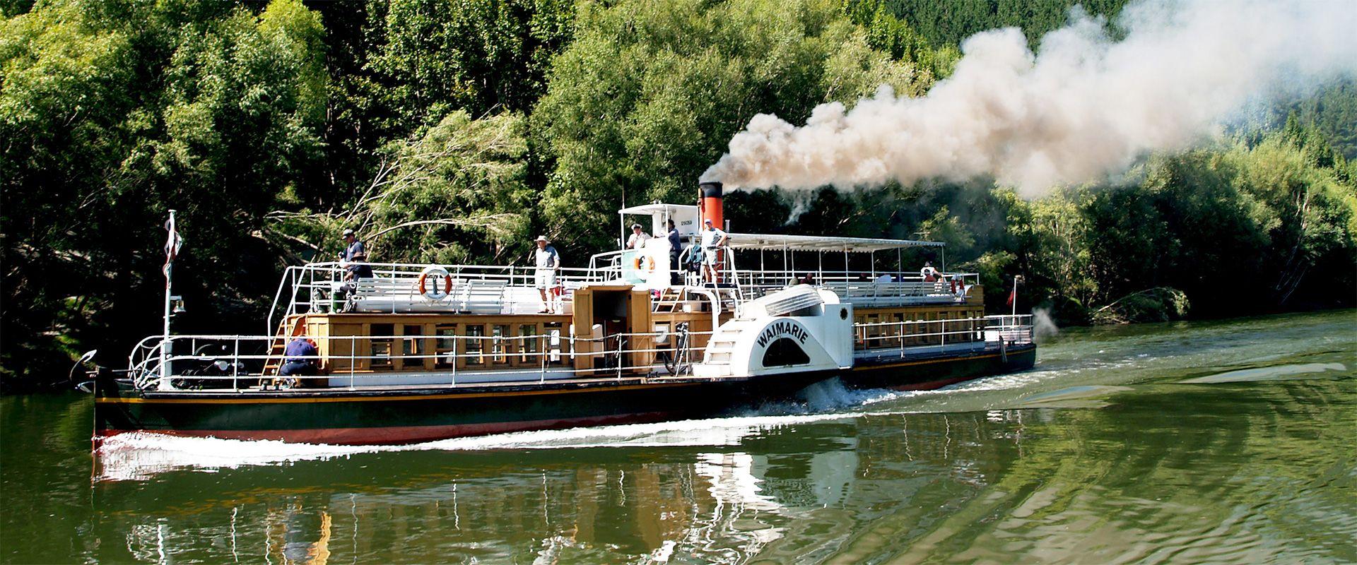 Whanganui river steam boat
