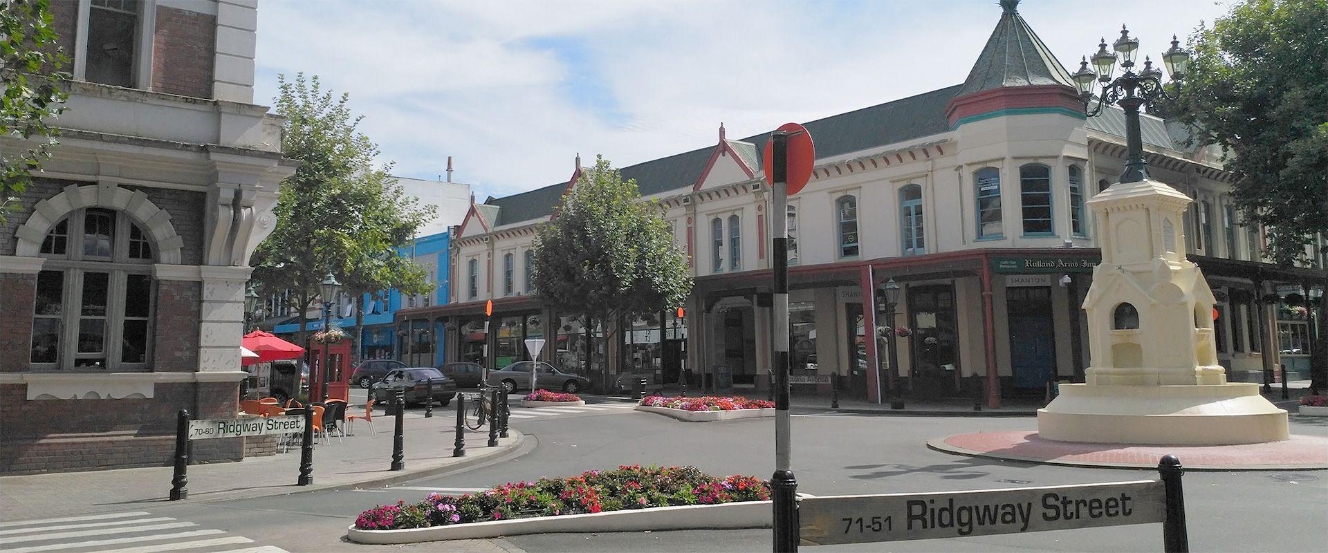 Ridgway Street in Whanganui