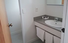 large studio unit can accommodate 3 guests