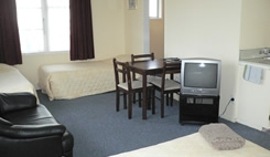 large rooms available in Masterton with tea & coffee making facilities