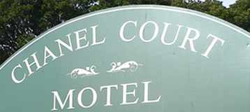 Chanel Court Motel location