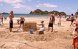 amazing beaches nearby Whananaki Holiday Park