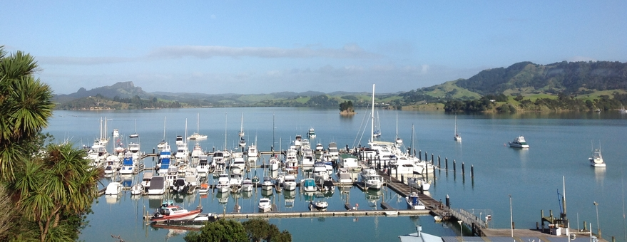 motel accommodation at Whangaroa harbour