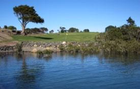 Golf Club overlooking the Bay of Islands