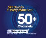 Sky 50+ Channels