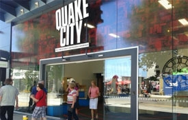Quake City - The Christchurch Earthquakes Experience