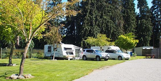 powered sites for campervans