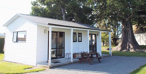 ensuite cabin outside