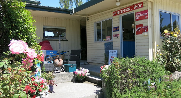 reception of our Timaru holiday park