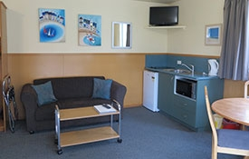 lounge and kitchen facilities
