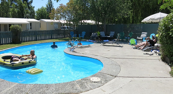 on-site swimming pool