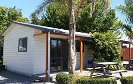 self-contained studio cabin