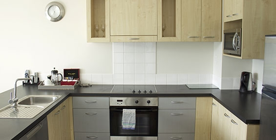 all cooking facilities available in our serviced apartments