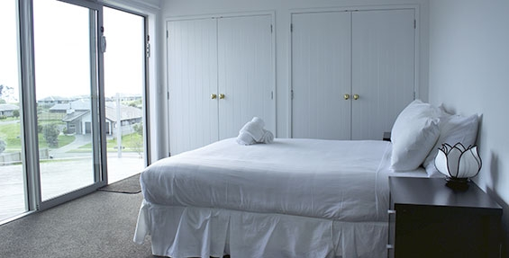 huge room with double wardrobes and amazing views