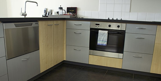 full cooking facilities in all apartments including oven and microwave