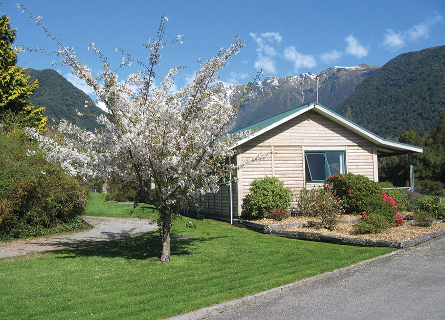 family-owned Fox Glacier motel