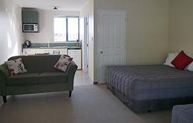 kitchen facilities available in studio unit