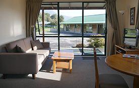lounge of 1-bedroom units