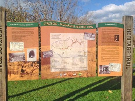 Taumarunui heritage trail