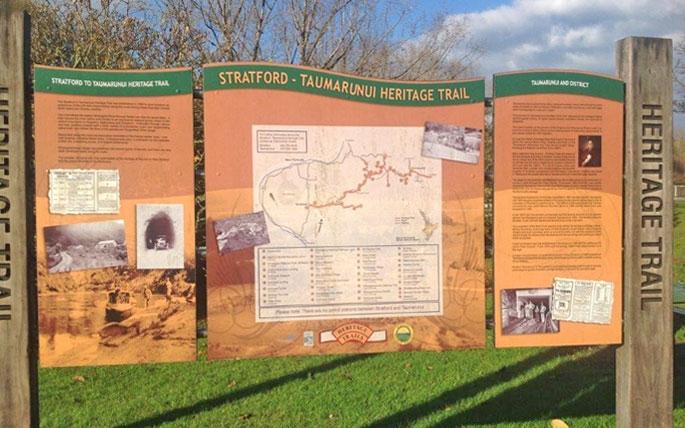Stratford - Taumarunui Heritage Trail