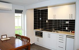 1-bedroom unit kitchen