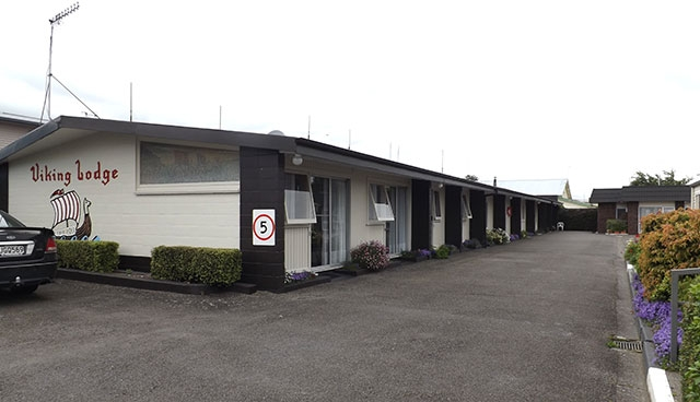 Viking Lodge Motel is located in Dannevirke township