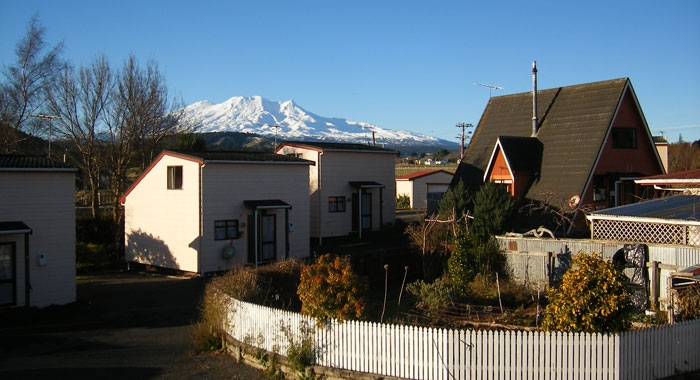 beautiful views of snow covered mountains from your accommodation