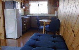 kitchen and lounge of 2-Bedroom Chalet