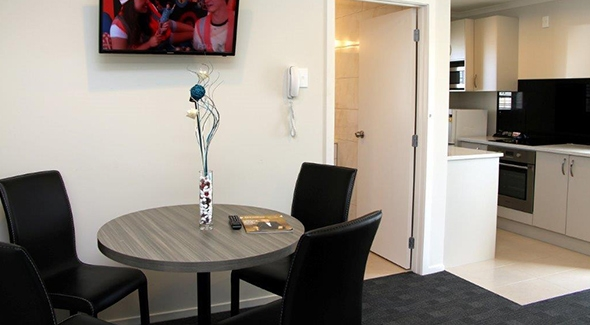 cooking facilities and wireless internet available in all motel units