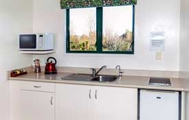 2-Bedroom Suite kitchen with hot plates