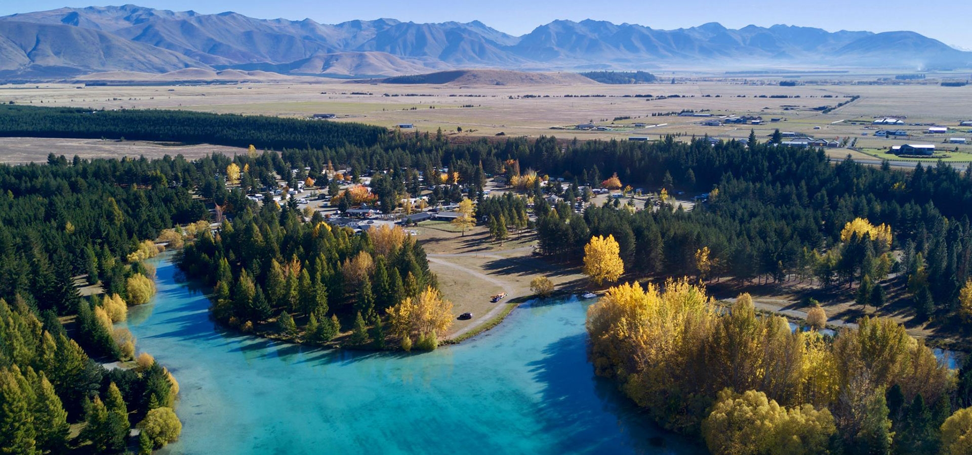 holiday park is located in the heart of Mackenzie Country