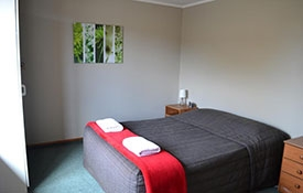 two bedroom unit can accommodate up to 6 guests
