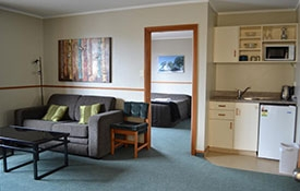 large two bedroom unit