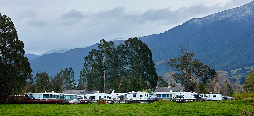 new camp facilities in Kaikoura