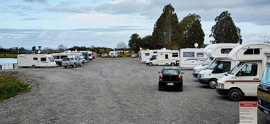 Kaikoura motor homes